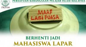 BERHENTI JADI MAHASISWA LAPAR