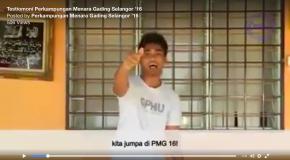 VIDEO TESTIMONI PERKAMPUNGAN MENARA GADING (PMG) SELANGOR
