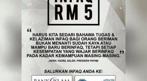 KEMPEN SERIBU INFAQ RM5 PKPIM