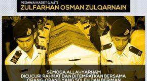 PKPIM gesa pihak berkuasa segera menjalankan siasatan terperinci ke atas perkara yang berlaku ke atas Allahyarhan Zulfarhan.