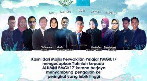 Syabas & Tahniah Kepada Alumni PMGK 2017