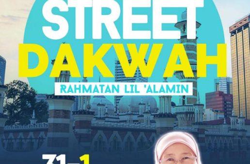 STREET DAKWAH SEMPENA TAHUN BARU 2019