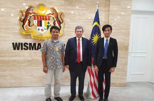 Kunjungan Hormat PKPIM bersama Menteri Luar Malaysia