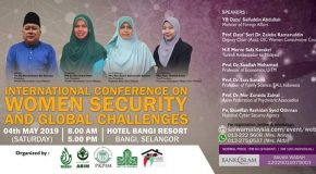 INTERNATIONAL CONFERENCE ON WOMEN SECURITY AND GLOBAL CHALLENGES
